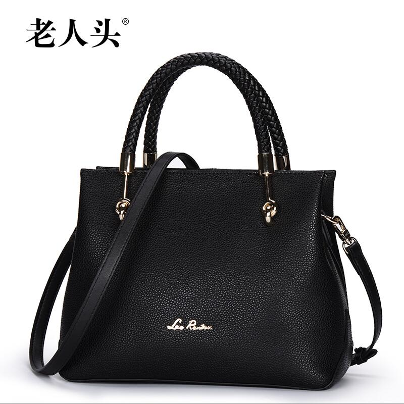 eb54a340bebc LAORENTOU 2017 New brand women genuine leather bag fashion quality women  handbags shoulder messenger leisure cowhide killer bag