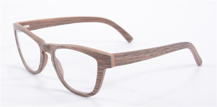 eye glasses frames for women optical frame designer brand new wood ...