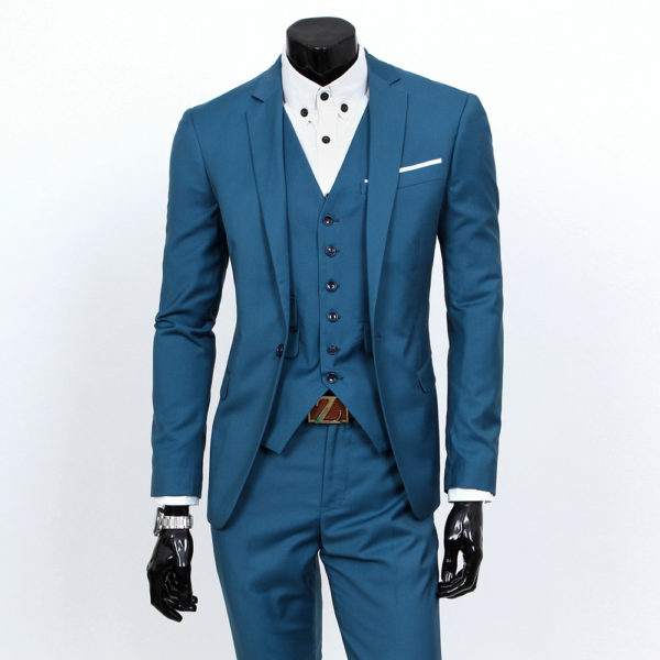 2017 New Men Suits One Buckle Brand Suits Jacket Formal Dress Men