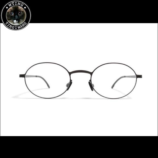 New Vintage Metal Glasses Men Designer Full Frame Man Round Retro ...