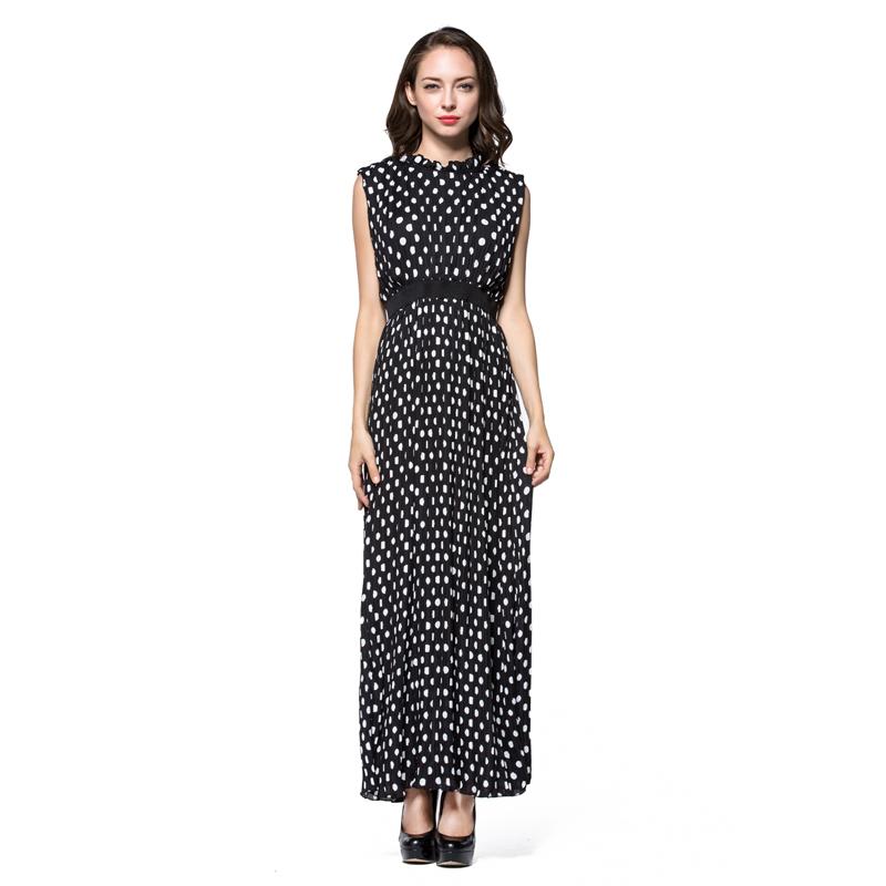 L 6xl Women Plus Size Dress Summer Fashion Bohemian Beach Black And