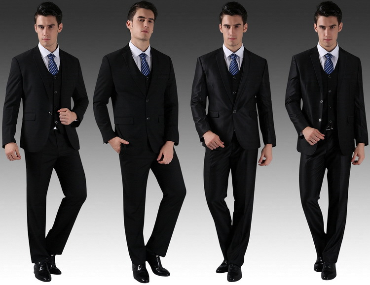 (Jacket+Vest+Pants+Tie) 2015 New Men Wedding Suits Slim Tuxedo Brand Fashion Formal Costumes Business Dress Suits Blazer H0285 u2013 MyFashionBuy  sc 1 st  MyFashionBuy & Jacket+Vest+Pants+Tie) 2015 New Men Wedding Suits Slim Tuxedo Brand ...