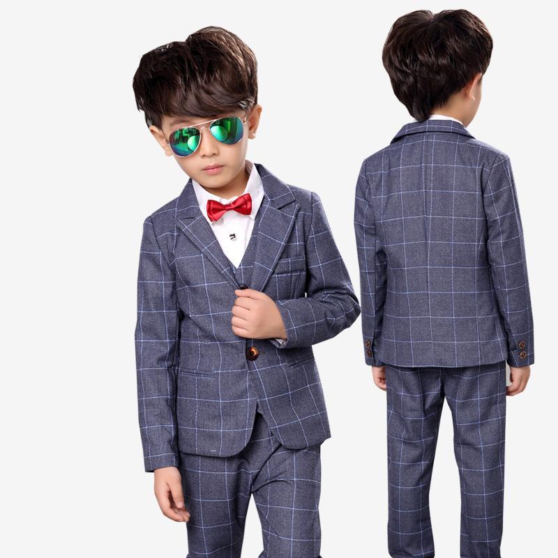97118c664 2017 New Brand Children Suit Baby Boys Suits Kids Blazer Formal ...