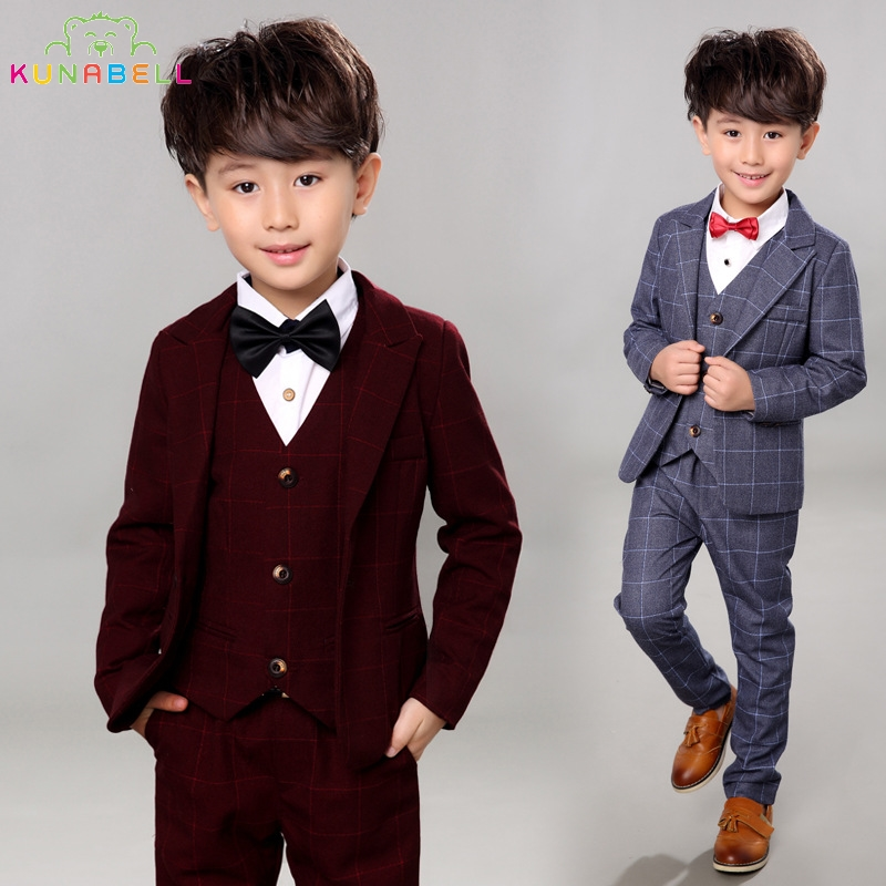 2017 new brand children suit baby boys suits kids blazer formal
