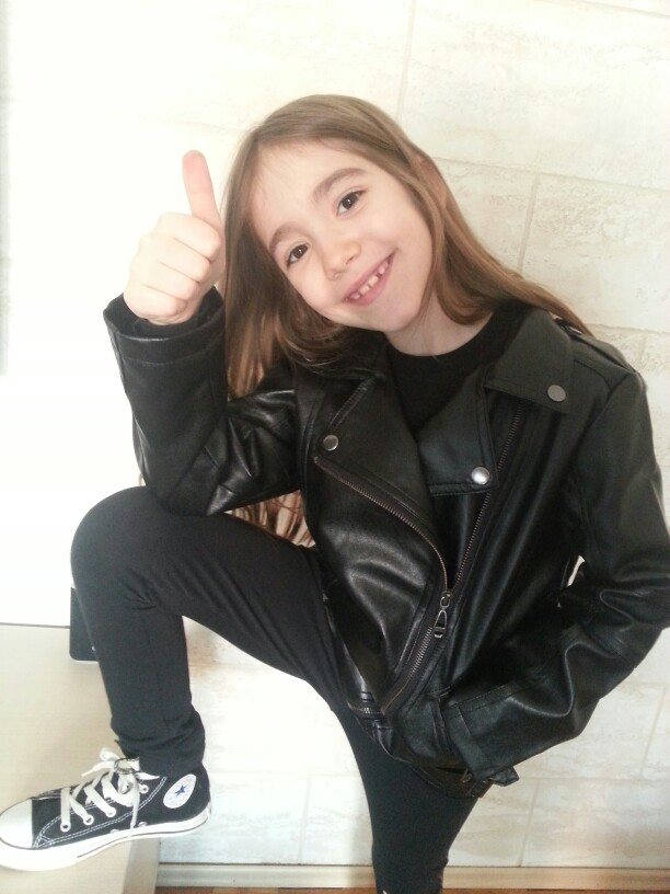 f4d9b1a29 Teenager Girl Boys Leather Jacket Boys Casual Black Solid Children ...