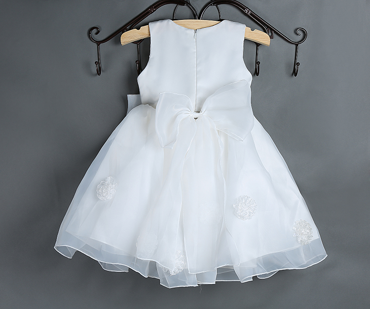 1772fea76 New 2015 baby girl dress vintage baby Christening dresses rose big ...