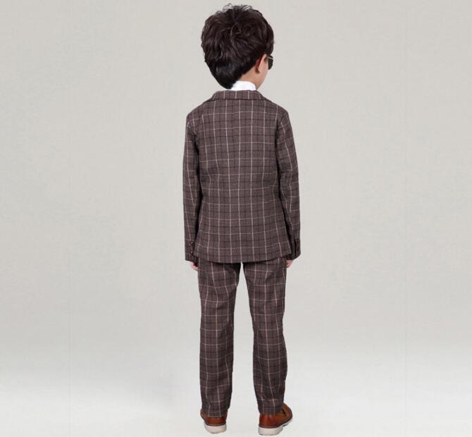 a803aee57 3-12 Year Children Formal Blazer Prom Wedding Baby Boys Suits 8 ...