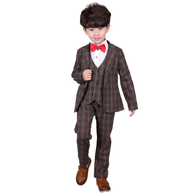 1c25e9f236b5 3-12 Year Children Formal Blazer Prom Wedding Baby Boys Suits 8 ...