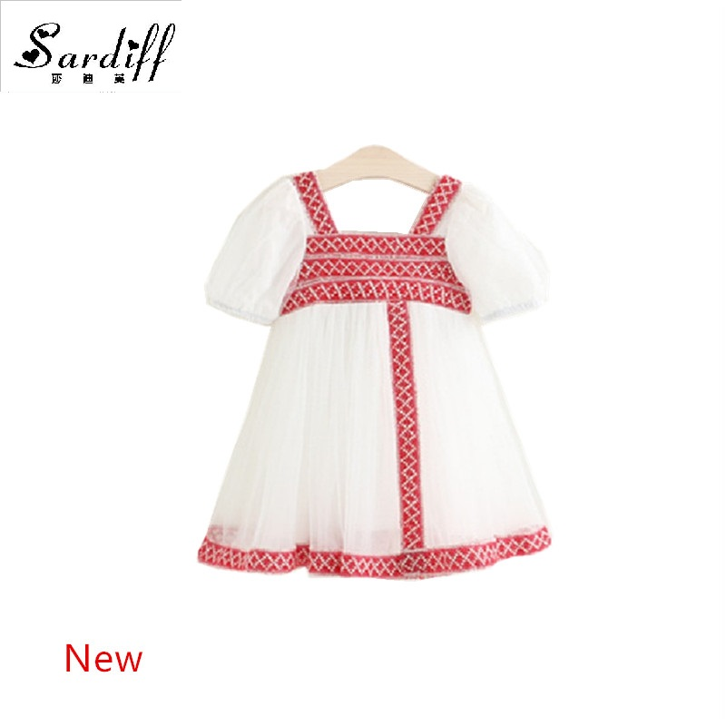 76d008f83 2017 Kids Lace Luxurious Embroidery Dress Karen Style Clothes High ...
