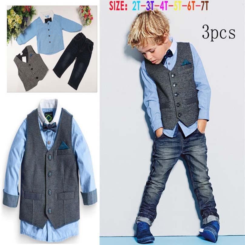 4e1d118b3 new fashion style children blazer set wedding suit kids cotton jackets  blazer suits for baby boys 3pics/set – MyFashionBuy
