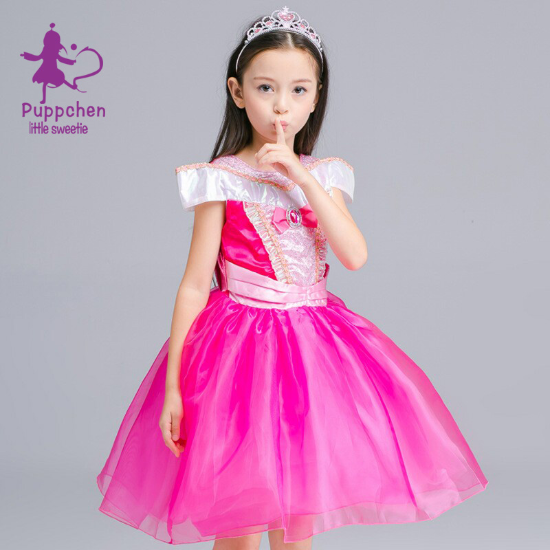 Puppchen Formal Full Dress Baby Girls Clothes Carnival Costumes
