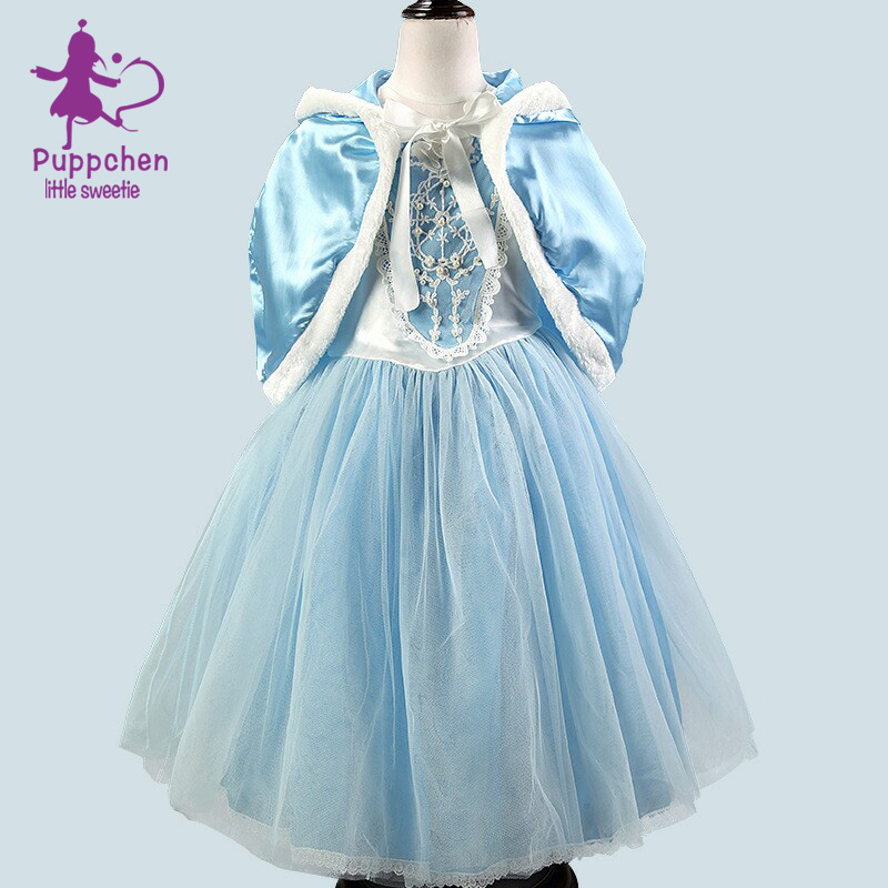 Puppchen wedding dress baby girls clothes carnival costumes children ...
