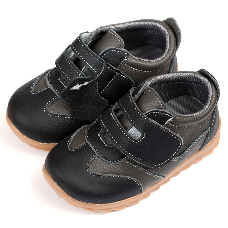 Baby Sneakers Toddler Boys Shoes Cow Leather Breathable Rubber Sole Casual  Black Fashion Kids Infant Shoes Chaussure Enfant – MyFashionBuy a49dd540bf96